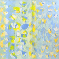 Clear Sailing, 2007, acrylic on panel, 60 x 60 inches