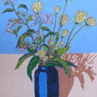 Coulis._Wild_flowers._2010._16.5_x_11.7_inches