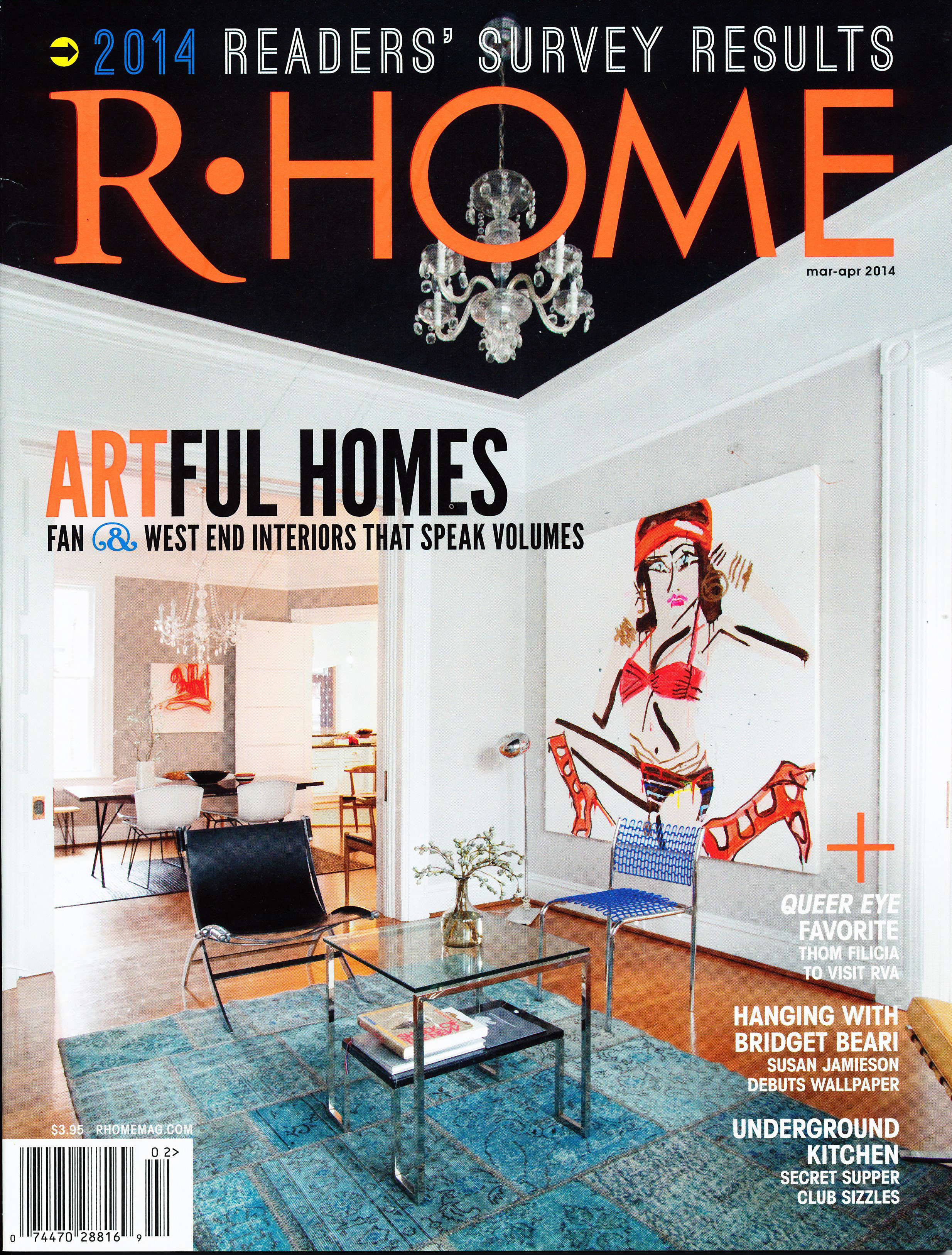 Artful Living in R-Home Magazine