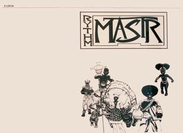 Kerry James Marshall, Rythm Mastr, 2006, ink printed on newsprint, 23 x 31 inches