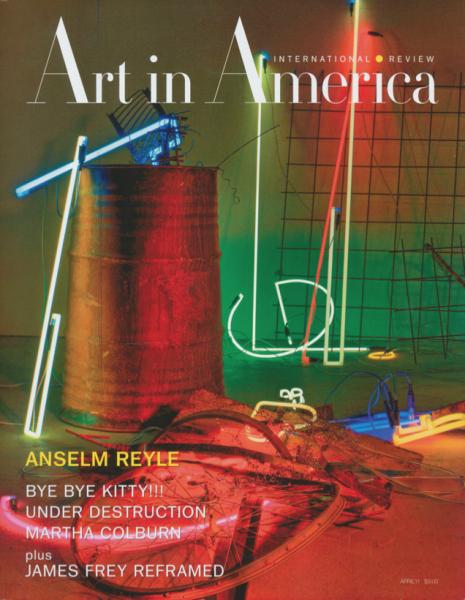 Sally Mann. Art in America. cover. april 2011