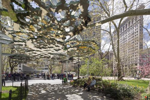 Teresita Fernandez in Madison Square Park