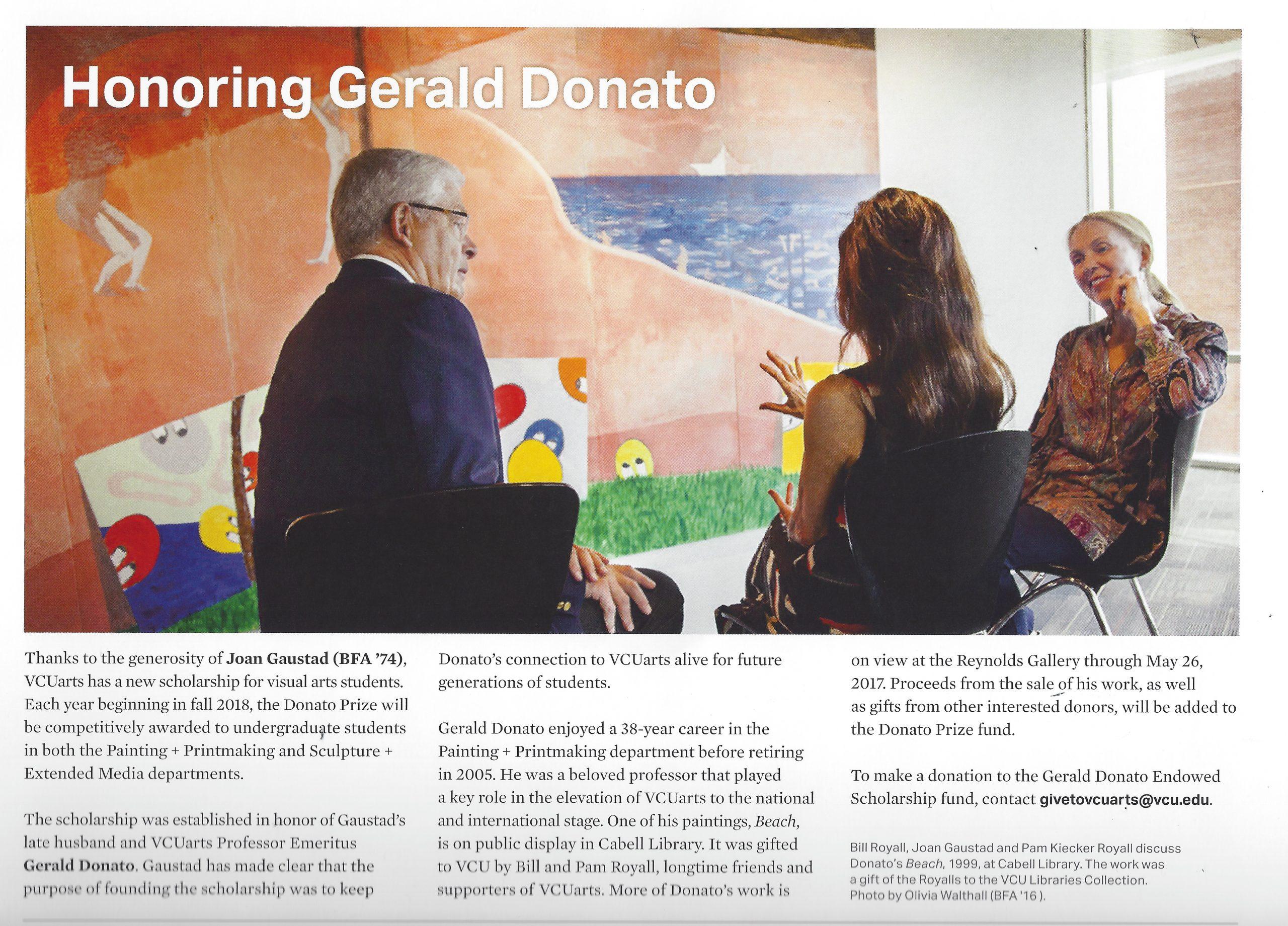 Gerald Donato Scholarship Fund
